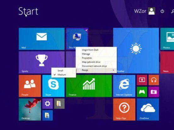 Windows 8.1 Update 1 kommt vielleicht erst im April
