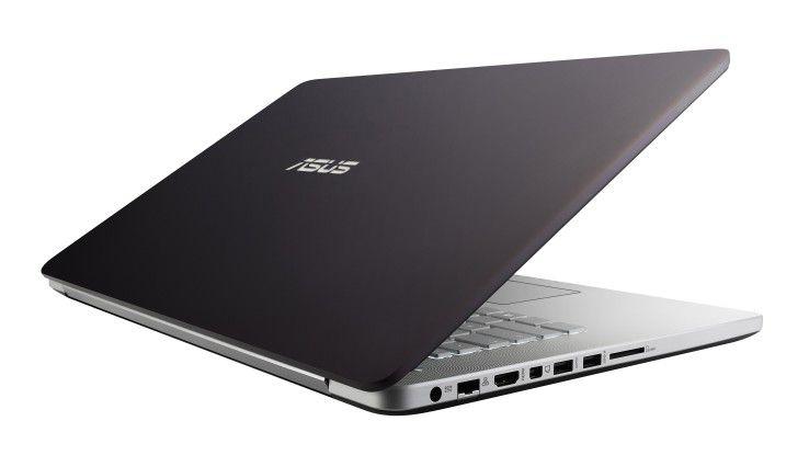 Asus N750JK: 17,3-Zoll-Notebook mit Quad-Core-CPU