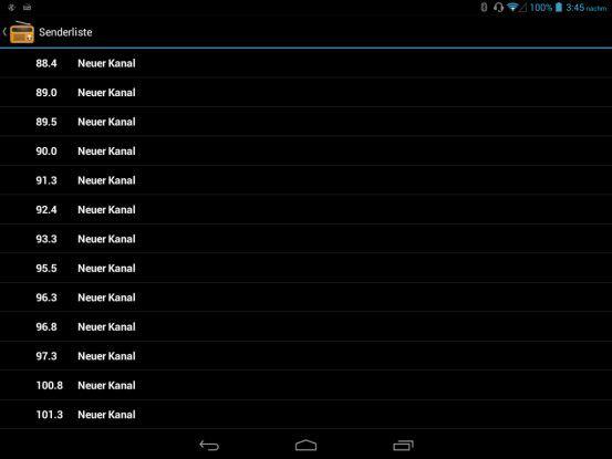 Tablet-Radio: Das Archos 79 Xenon empfängt auch UKW