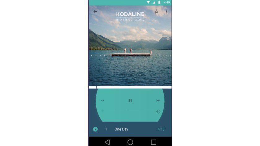 Android L: Bei der neuen Version setzt Google auf ein modernes Design.
