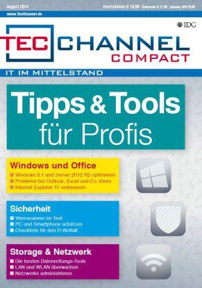 160 Seiten Praxis, Tipps und Tools für alle Lebenslagen bietet das neue TecChannel Compact.