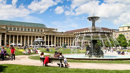 Stuttgart hat mit 4,8 Prozent Arbeitslosigkeit neben München den niedrigsten Wert.