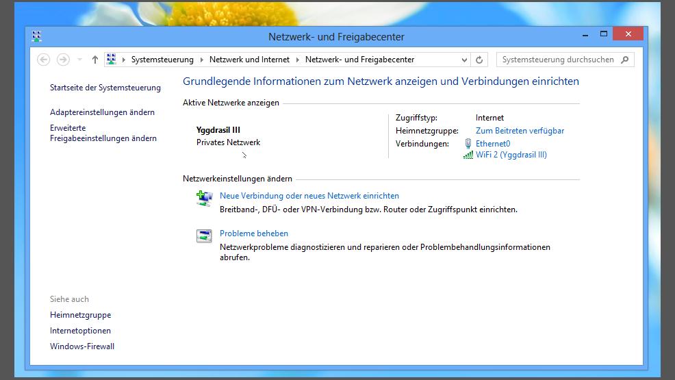 heimnetzwerk einrichten windows 8 und mac
