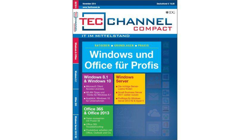 160 Seiten praktisches Wissen, Tipps und Tricks liefert Ihnen das neue TecChannel Compact.
