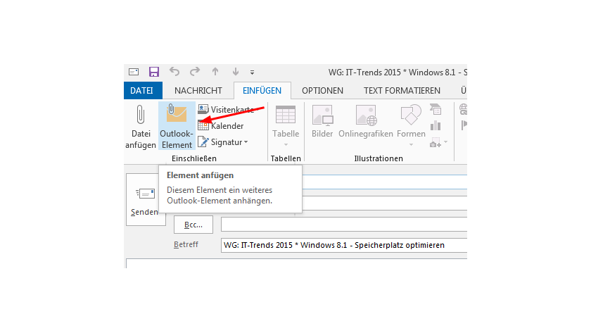 Tipp Für Microsoft Office 2013 Und Office 365 Outlook 2013