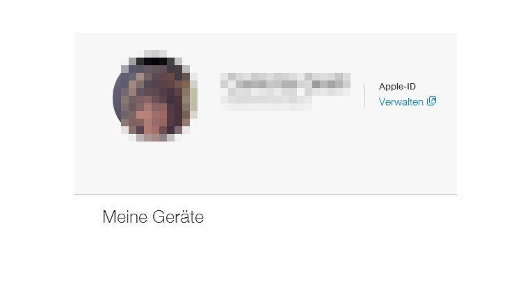 In den Einstellungen von iCloud passen Sie Ihre Apple-ID an.