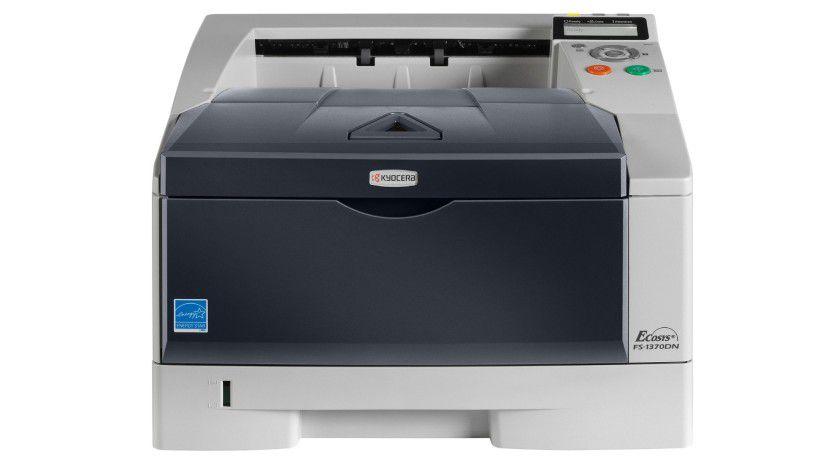 Der Kyocera FS-1370DN ist der beliebteste Drucker der TecChannel-Leser.