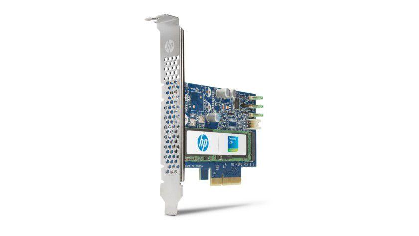 HP Z Turbo: Die Flash-Speicherlösung verwendet die NVMe-Technologie von Samsung.