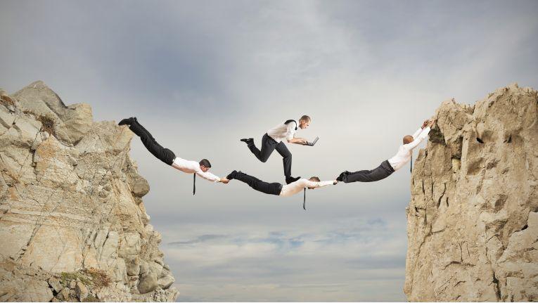 Gute Teams mit den richtigen Collaboration-Tools im Hintergrund können nahezu Unfassbares erreichen.