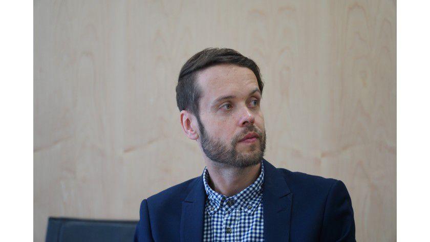 """Sebastian Wolters, mediaTest digital: Notwendig ist eine """"ständige Sensibilisierung der Mitarbeiter"""" in Sachen IT-Sicherheit."""