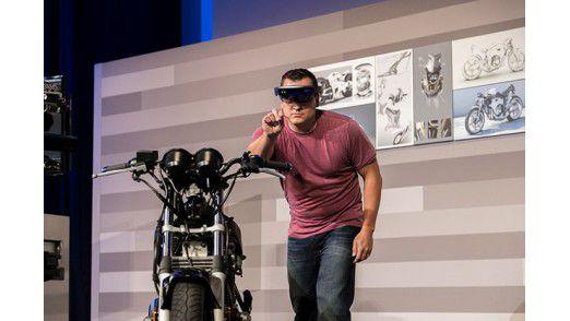 Microsoft demonstrierte wie sich die Arbeit mit 3D-Modellen für Designer mit der HoloLens ändern könnte.