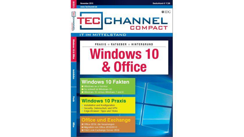 Das neue Compact: 160 Seiten Praxis zu Windows und Office