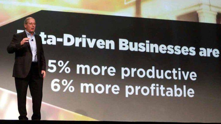 Mike Koehler, CEO von Teradata: Das Interesse an Big Data und der zugehörigen Wertschöpfung steigt in allen Business-Bereichen rasant an.