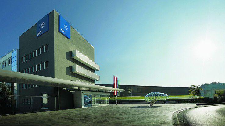 Die Firmenzentrale von AVL in Graz