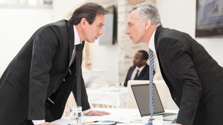 Ein Konflikt muss produktiv und konstruktiv gehandhabt werden, sodass alle davon profitieren.
