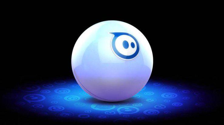 Die Roboterkugel Sphero ist wasserfest und stabil.