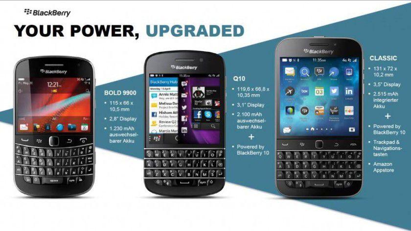 Das Blackberry Classic richtet sich an Fans von Bold & Q10.