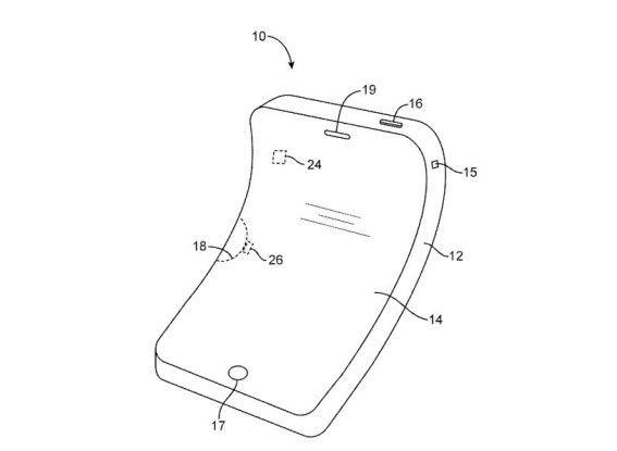 Apple-Patent auf biegsames Smartphone