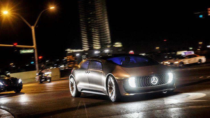 Obwohl bereits 2015 vorgestellt, ist der Mercedes-Benz F 015 und das zugrundeliegende Konzept noch ziemlich futuristisch.