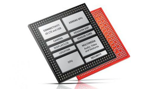 Qualcomms aktueller Flaggschiff-Chipsatz Snapdragon 810