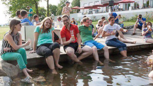 Zum mehrtägigen Sommerseminar treffen sich alle 150 Mitarbeiter von MaibornWolff einmal im Jahr.