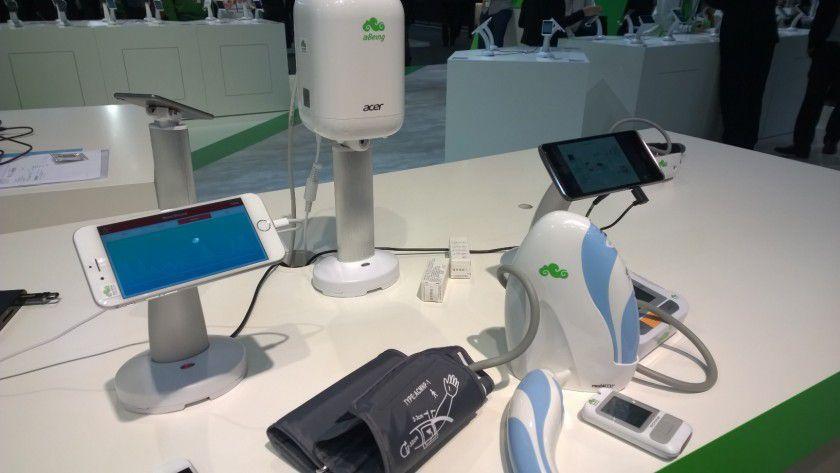 Ein Referenzkit als IoT-Lösung hat Acer im medizinischen Bereich vorgestellt.