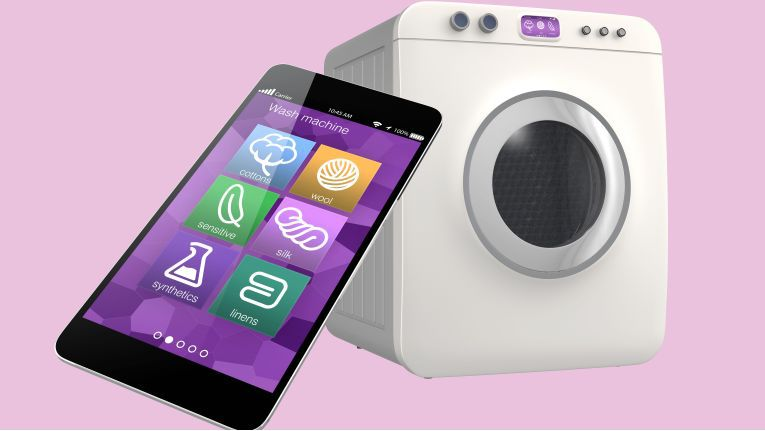 Waschmaschinen finden beim Thema Smart Home starke Beachtung.
