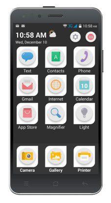 Eine einfache Benutzeroberfläche soll nicht Smartphone-affinen Usern den Einstieg erleichtern.