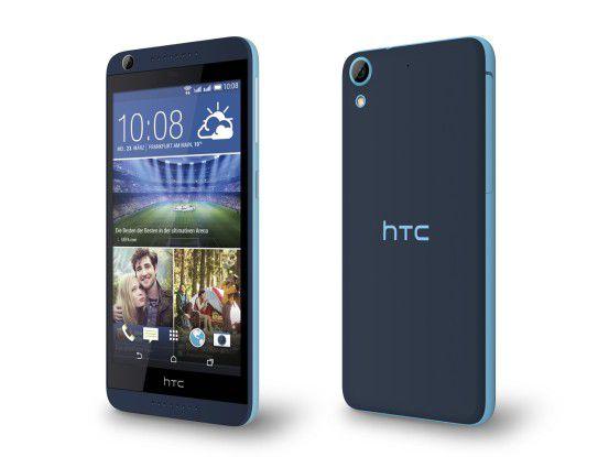 Das HTC Desire 626G adressiert das Mittelklassesegment und kostet 279 Euro.