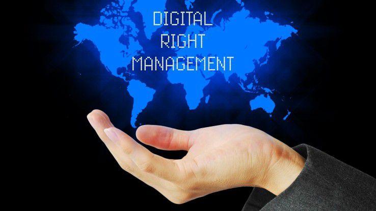 Ziel eines Digital Rights Management ist es, die Sicherheit des Unternehmens zu gewährleisten und Schadensersatzklagen zu vermeiden.