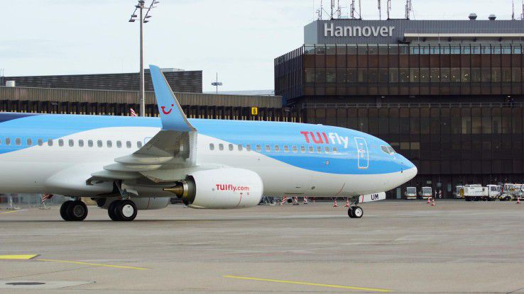 Bei TUI spielen Business Intelligence und Data Analytics eine bedeutende Rolle - beispielsweise im Ablauf des Flugverkehrs.