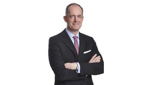 Gisbert Rühl ist CEO beim größten produzentenunabhängigen Stahl- und Metallhändler Klöckner & Co. in Duisburg.
