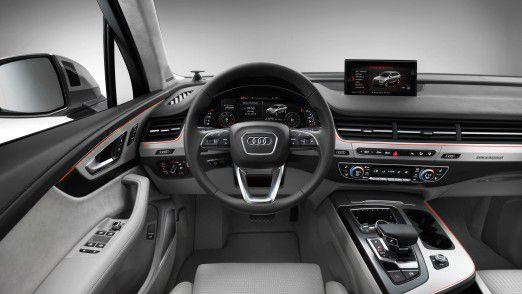 Auch am Steuer ihres Audis sollen chinesische Kunden auf ihre liebsten Apps nicht verzichten müssen.