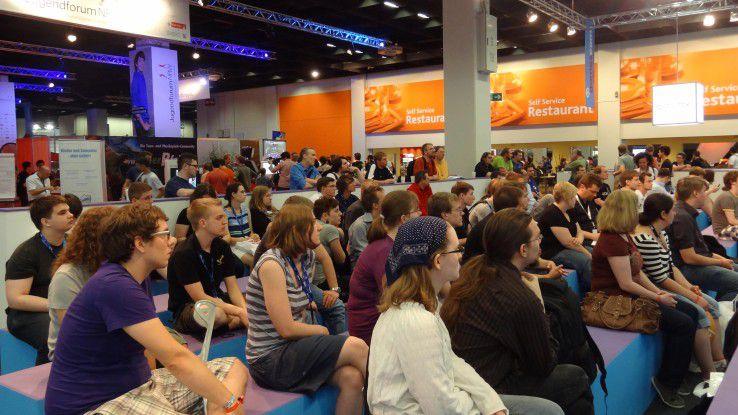 Auf der Gamescom erwarten Sie hunderte von jungen, motivierten, technikaffinen menschen.