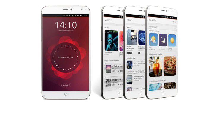 Das Meizu MX4 Ubuntu Edition setzt das noch junge Mobile-Betriebssystem angemessen in Szene.