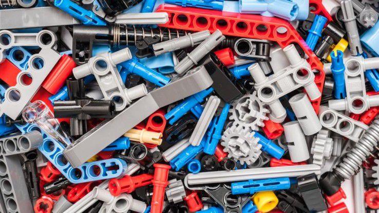 Wie mit einem Lego-Baukasten soll man über die smapOne-Plattform ohne Programmierkenntnisse eigene kleine Apps bauen können.