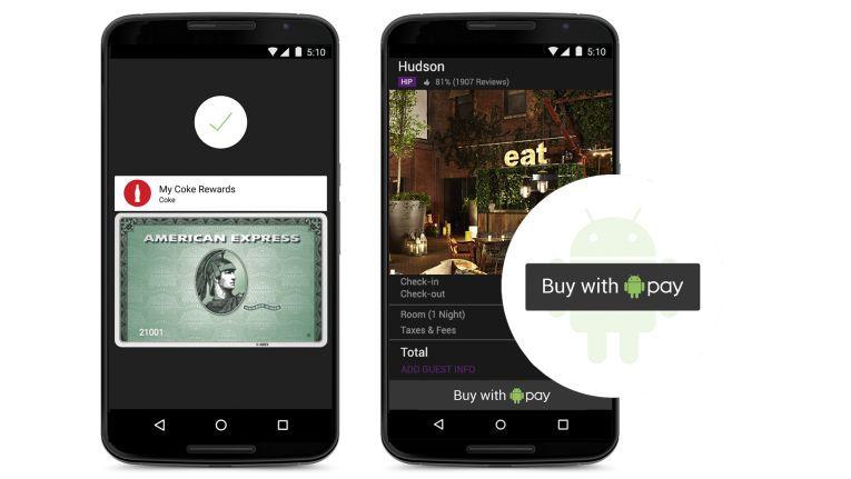 Google startet den mobilen Bezahldienst Android Pay.