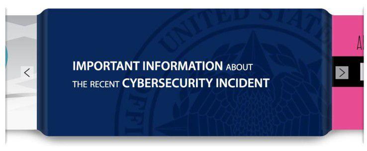 Das Office of Personal Management (OPM) warnt auf seiner Website vor den möglichen Folgen des Cyberangriffs.
