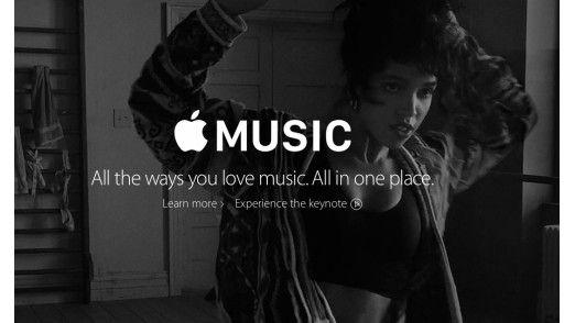 Apple bietet Music ab dem 30. Juni auch als Streaming-Dienst an.