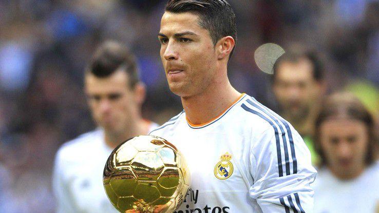 Fußballstar Cristiano Ronaldo macht Werbung für einen Herrenduft, der besonders CIOs ansprechen dürfte.