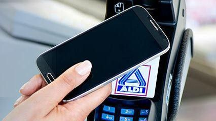 Mobile Payment bei Aldi Nord