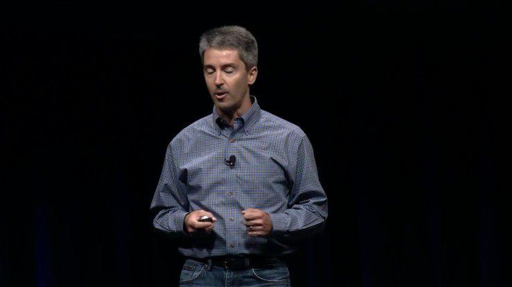 Todd Fernandez, Senior Manager Device Management bei Apple