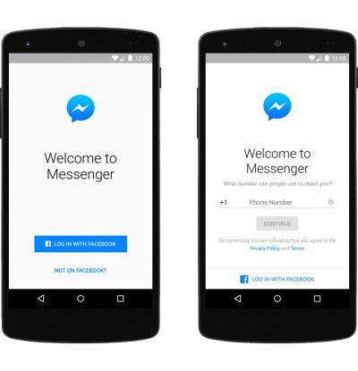 Facebook Messenger: Nutzung ohne Account