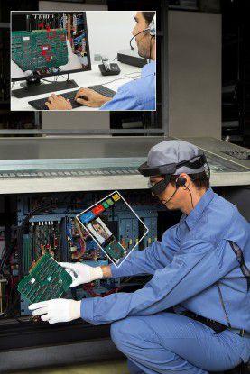 AR-Anwendungsszenario für die Moverio Pro BT-2000