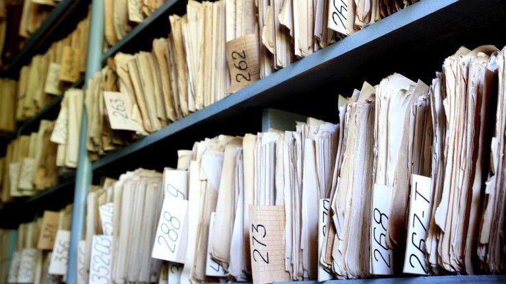 Nur eine überschaubare Anzahl der im Rahmen der Studie befragten Unternehmen nutzen ihr Archiv für die Geschäftsanalyse.