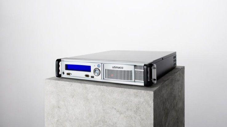 Ein Hardware Security Module (HSM) wie dieses Modell von Utimaco dürfte künftig zum neuen Standard in Connected Cars werden.