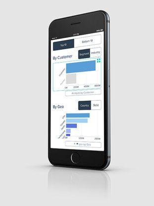 Anwender sollen die neuen Wave Analytics Apps von Salesforce auch über mobile Endgeräte wie Apples iPhone nutzen können.