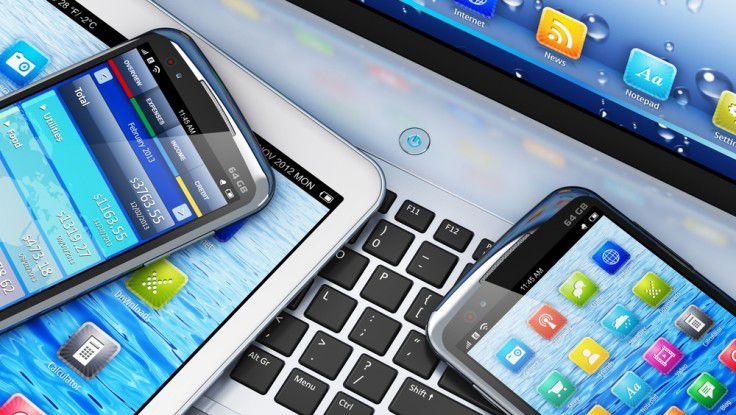 Notebook, Convertible, Tablet, Smartphone oder Phablet: Wer die Wahl hat, hat die Qual.