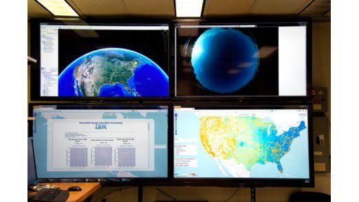 IBMs Wetterprognose-System SMT führt Daten von Wetterstationen und Satelliten mit historischen Daten zusammen. Herauskommen soll eine exakte Prognosen - über Wochen.