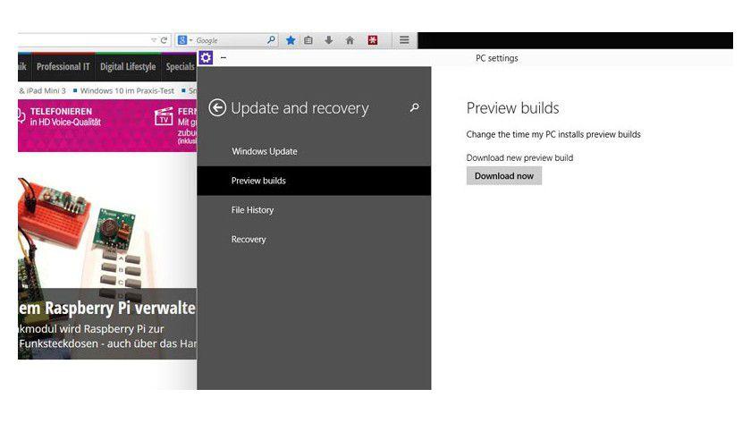 Windows 10 TP: Eine neue Build steht zum Download bereit